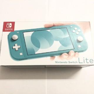 Nintendo Switch - 美品 Nintendo switch Lite 本体 ターコイズ
