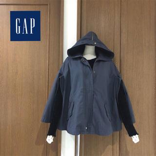 ギャップ(GAP)のGAP ◆ モッズコート ポンチョ ケープ ブルゾン グレー (モッズコート)