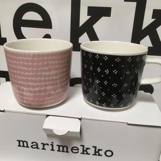 marimekko - マリメッコ ラテマグ カップ ラシィマット ムイヤ 各一個ずつ
