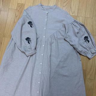 SM2 - sm2 ♡ 袖刺繍ワンピース