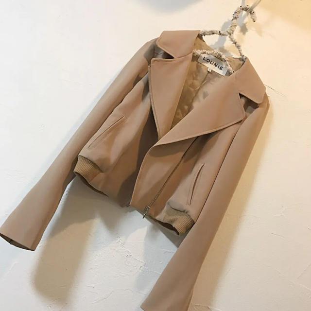 LOUNIE(ルーニィ)のlounie♡ジャケットブルゾン レディースのジャケット/アウター(ライダースジャケット)の商品写真