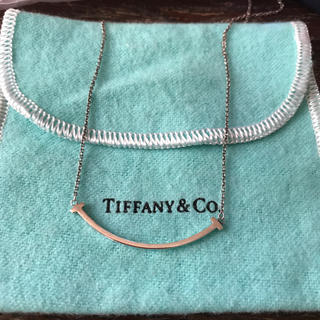 Tiffany & Co. - 30,000円からお値下げ中! スマイル ネックレス