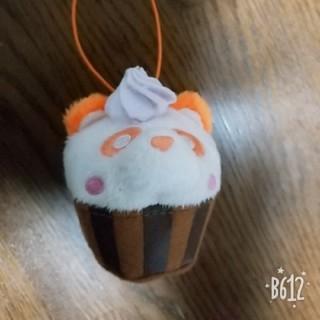 AAA - え~パンダ カップケーキマスコット 橙Ver.