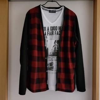 しまむら - メンズ Tシャツ カーディガン セット M