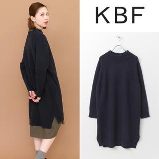 KBF - 美品*KBF ハイネックニットワンピース アーバンリサーチ イエナ SHIPS