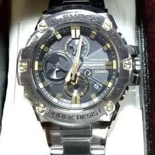 ジーショック(G-SHOCK)の超人気 カシオ G-SHOCK  GST-B100D-1A9JF G-STEEL(腕時計(アナログ))