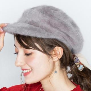 パサージュミニョン(passage mignon)のベレー帽(ニット帽/ビーニー)
