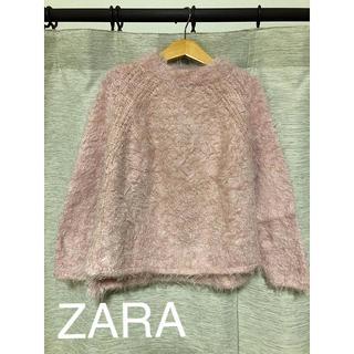 ザラキッズ(ZARA KIDS)のZARAもこもこニットトップス122cm(ニット)
