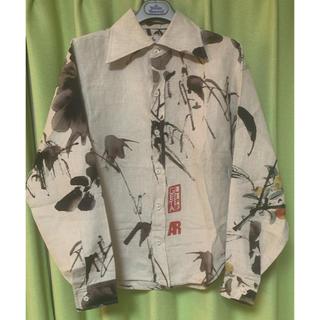 Vivienne Westwood - ☆今年購入 一度だけ着用 チャイニーズ ピアニー柄 リネンシャツ