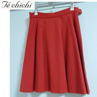 テチチ(Techichi)の膝丈フレアスカート(ひざ丈スカート)
