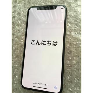 iPhone - 【再出品最終値下げ】iPhone X Silver 64 GB docomo