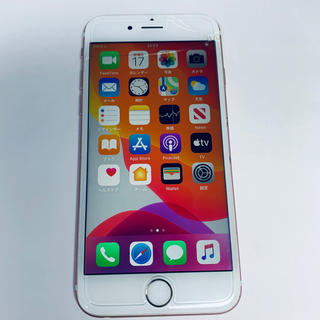 Apple - ジャンク品 iPhone 6s Rose Gold 64 GB SIMフリー