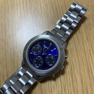 アニエスベー(agnes b.)のアニエスベー クロノグラフ 稼働品(腕時計(アナログ))