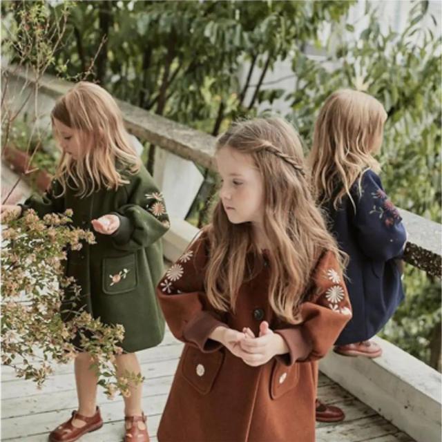 Caramel baby&child (キャラメルベビー&チャイルド)の韓国子供服 コート キッズ/ベビー/マタニティのキッズ服女の子用(90cm~)(コート)の商品写真
