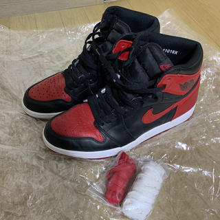 NIKE - 【28cm】JORDAN 1 RETRO HIGH OG Bred/BANNED