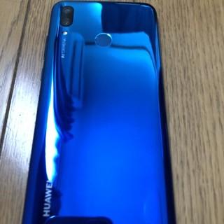 Huawei nova lite3 BLUE SIMフリー