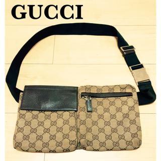 Gucci - GUCCI グッチ ウエストポーチ  ベルトバッグ