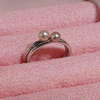 淡水パールリング 2本セット(リング(指輪))