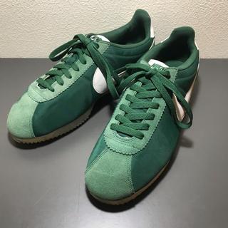 NIKE - NIKE cortetz green×white 27.5cm