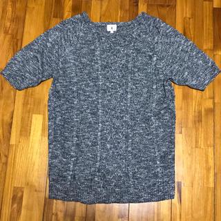 ザショップティーケー(THE SHOP TK)のTK・コットン サマーニットTシャツ(ニット/セーター)