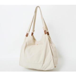 しまむら - 【新品タグ付き】しまむら プチプラのあや福袋 濃白 トートバッグ