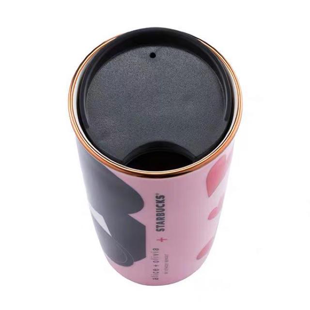 Starbucks Coffee(スターバックスコーヒー)のバレンタイン ハート アリスアンドオリビア台湾スターバックスマグカップタンブラー インテリア/住まい/日用品のキッチン/食器(グラス/カップ)の商品写真
