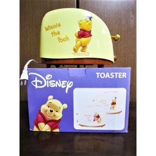 ディズニー(Disney)の【新品】プーさん★ポップアップトースター★トーストの焼き色がプーさんの顔だよ!(調理機器)