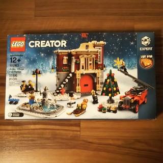Lego - レゴ ウィンタービレッジ ファイヤーステーション