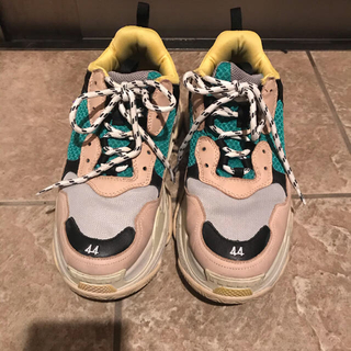 OFF-WHITE - dude9 stud homme バレンシアガ 型 triple s 44