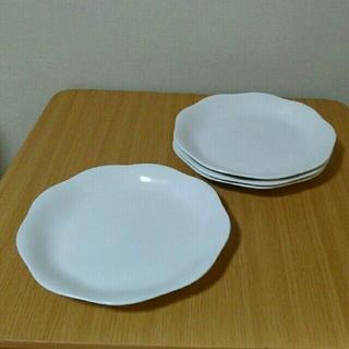 ノリタケ(Noritake)の【値下げ】ノリタケ 白 プレート 4枚セット(食器)