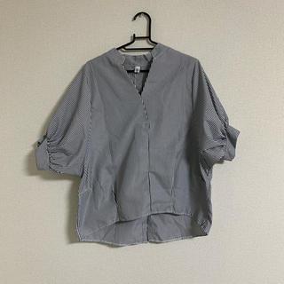ドルマン袖シャツ
