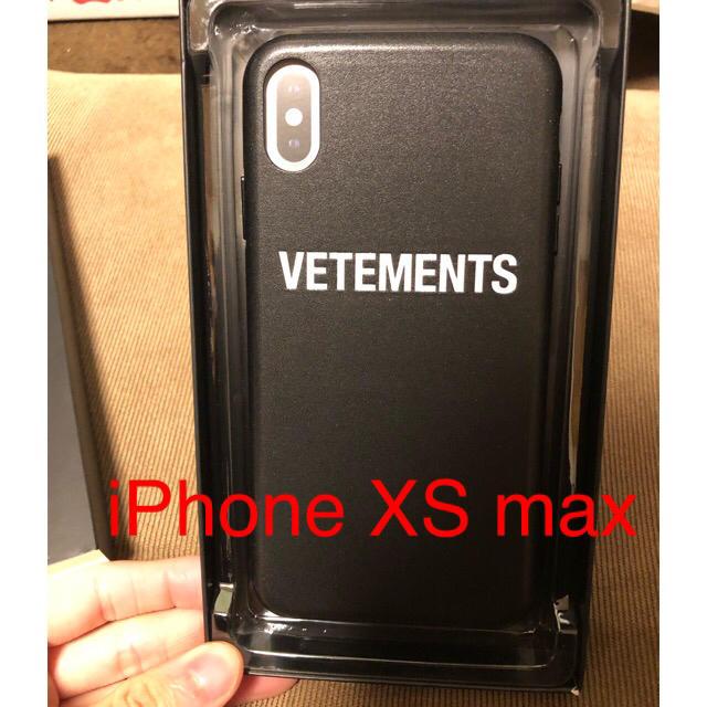 新品 vetements iPhoneケース XS max アイフォンの通販