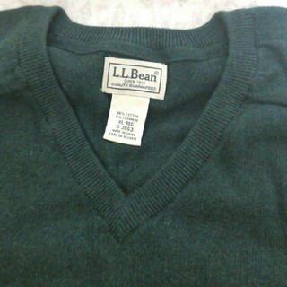 エルエルビーン(L.L.Bean)のL.L.Bean コットン/カシミヤ・セーター    USサイズ XLレギュラー(ニット/セーター)