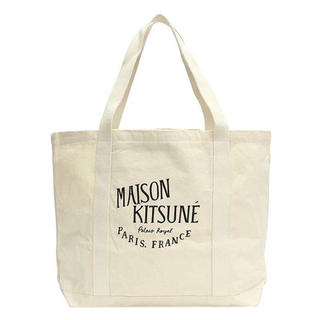 MAISON KITSUNE' - メゾンキツネ Maison Kitsune キャンバストートバッグ