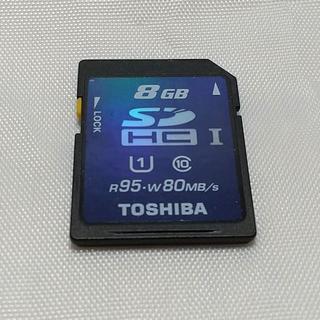 トウシバ(東芝)の東芝 SDカード 8GB(その他)