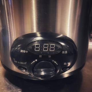 コイズミ(KOIZUMI)の スロークッカー・煮込み名人 ASC-T25/ST ステンレス(調理機器)