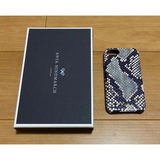 ANYA HINDMARCH - アニヤハインドマーチ スマホケース iPhone7/8 パイソン