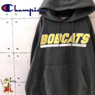 Champion - 【希少】90s チャンピオン スウェットパーカー カレッジ クイニピアック大学