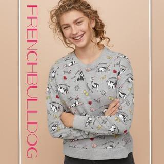 エイチアンドエム(H&M)の新品 フレンチブルドック トップス H&M◼着痩せ美ライン◼可愛いヨガブルさん (犬)