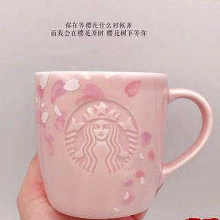 Starbucks Coffee - マグカップ 花 バレンタイン 台湾 スターバックス 中国 海外 タンブラー 桜