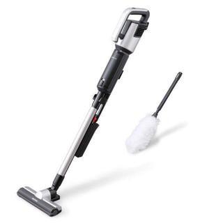 アイリスオーヤマ - 掃除機 静電モップ付き アイリスオーヤマ 極細軽量 スティッククリーナー