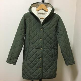 SM2 - 美品☆サマンサモスモス ボア付きキルティングロングジャケット