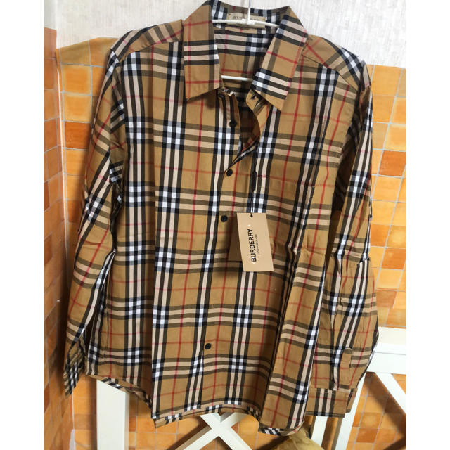 BURBERRY(バーバリー)のバーバリー burberry シャツ 長袖 L メンズのトップス(シャツ)の商品写真
