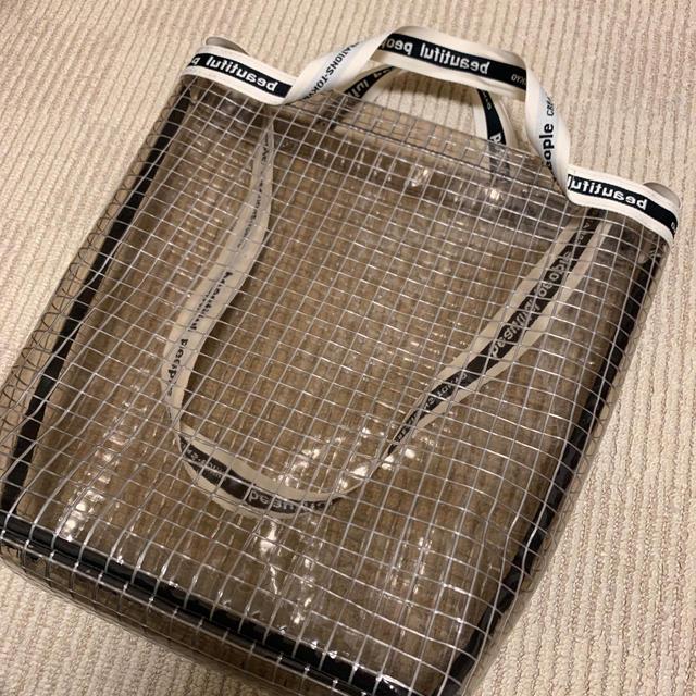 beautiful people(ビューティフルピープル)のbeautiful people クリアバッグ レディースのバッグ(トートバッグ)の商品写真