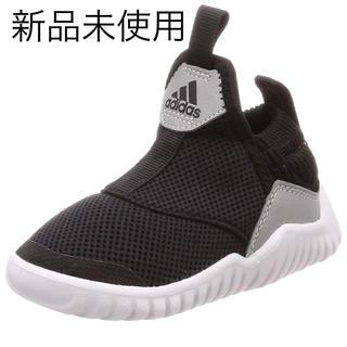 adidas - adidas スニーカー スリポッン 黒 17cm