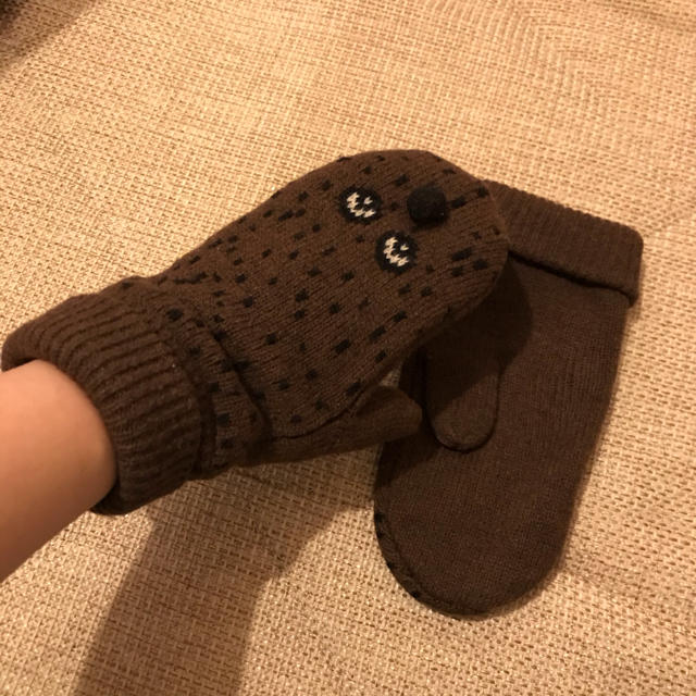 Ne-net(ネネット)のNe-net 手袋 ミトン 大人用 レディースのファッション小物(手袋)の商品写真