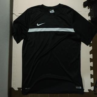 NIKE - NIKE DRI-FIT Tシャツ XL 黒×白
