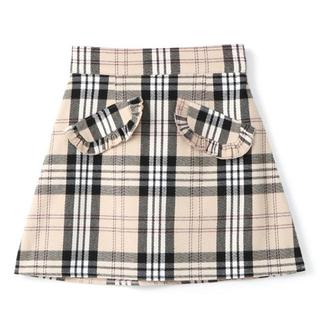 evelyn - evelyn フリルポケットスカート