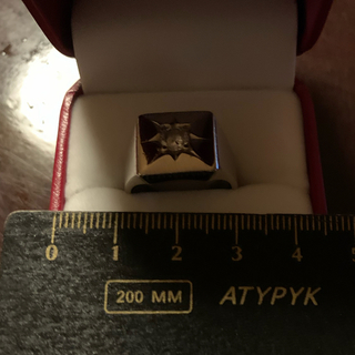 pt900  印台ダイヤモンドリング
