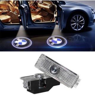 BMW ウェルカムランプ、KVCH 1灯LED礼儀照明簡単取り付け車のドアレーザ(蛍光灯/電球)